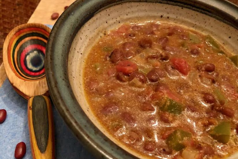Coconut Red Bean Soup